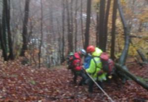 Monregalese recuperato dal Soccorso Alpino in un vallone