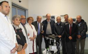 Gli 'Amici dell'Ospedale' di Savigliano donano al nosocomio un nuovo ecografo