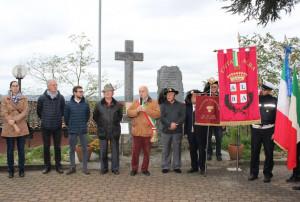 Alba: inaugurato il restaurato monumento ai Caduti di Santa Rosalia