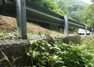 Nuove barriere di protezione lungo la strada del Colle dell'Agnello