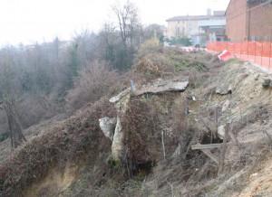 C'è il  progetto per la sistemazione della frana a Santo Stefano Roero