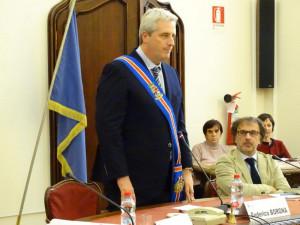 Con il giuramento del presidente Borgna si è insediato il nuovo Consiglio provinciale