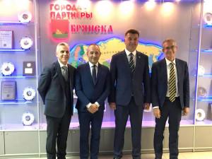 L'Amministrazione comunale di Cuneo presente alle celebrazioni del 'Bryansk City Day' in Russia