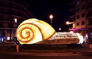 Borgo San Dalmazzo, un anno di 'ferie forzate' per la lumaca gigante di largo Argentera