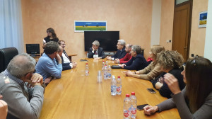 Paolo Gentiloni ha incontrato una delegazione del PD di Cuneo e di amministratori locali