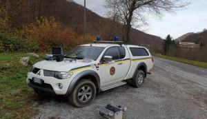 Nelle aree protette delle Alpi Marittime monitoraggio dei danni ai boschi con il drone