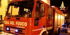 A fuoco un forno nello stabilimento della Saint-Gobain di Savigliano