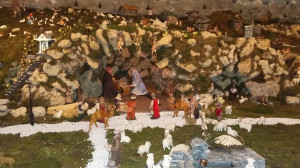 A Valdieri si aspetta il Natale con il presepe meccanico