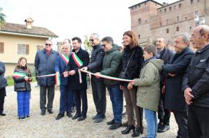 Grinzane Cavour: inaugurato il belvedere Unesco ai piedi del castello