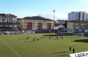 Il Cuneo calcio pareggia con l'Entella 1-1