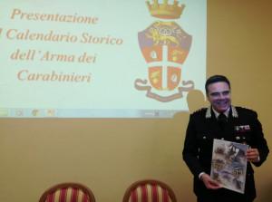 Presentato il Calendario dei Carabinieri 2019