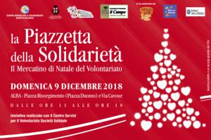 Domani il tradizionale mercatino 'Piazzetta della solidarietà'