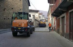 Rifreddo, completati i lavori in via Vittorio Emanuele II e piazza Luigi Borello
