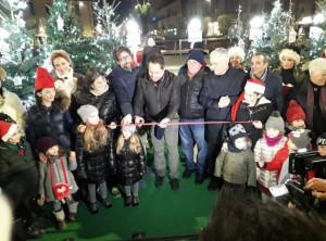 Inaugurato il Villaggio di Natale EGEA