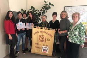 Cuneo: ecco i tre studenti vincitori del primo concorso letterario Zonta