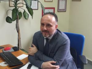 Cuneo saluta il dirigente della Squadra Mobile Marco Mastrangelo