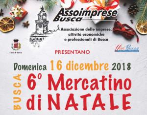 Il 16 dicembre a Busca i mercatini di Natale