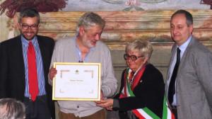 Conferita a Gianni Farinetti la cittadinanza onoraria di Bra
