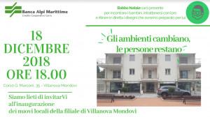 La Banca Alpi Marittime inaugura la nuova sede di Villanova Mondovì