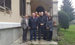 Il presidente Borgna ha visitato lo stabilimento farmaceutico Huvapharma di Garessio