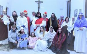Busca: presepe vivente nella chiesa del convento la sera della Vigilia