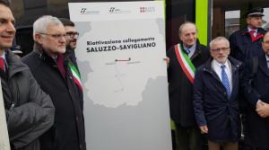 Riattivato il collegamento ferroviario tra Saluzzo e Savigliano
