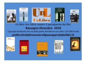 'Un libro tira l'altro...': i libri più letti e commentati del mese di dicembre