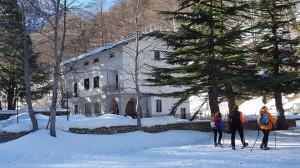 Sabato 12 gennaio ciaspolata notturna e cena in rifugio in valle Gesso