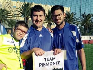 I calciatori cuneesi di 'Amico Sport' protagonisti in Sardegna