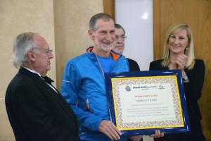 A Marco Olmo il premio 'Fair Play' del Panathlon