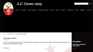 Cuneo calcio: ci prendono anche in giro...