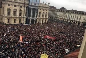 Anche Federico Borgna alla manifestazione 'Sì Tav' a Torino