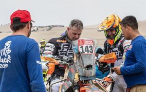 'Dakar' amara per Nicola Dutto, escluso dopo la quarta tappa