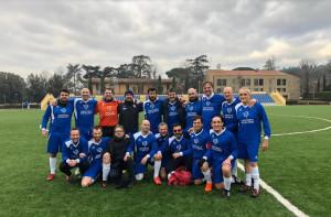 Tre psicologi cuneesi hanno partecipato a un torneo di calcio con finalità benefica