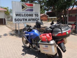 Il beinettese Franco Ballatore è arrivato a Cape Town