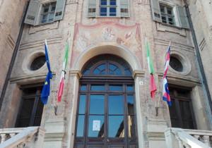 Assassinio sindaco di Danzica, bandiere a lutto a Bra