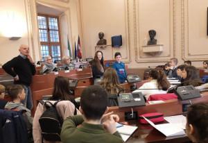 Bra: seduta di insediamento per il Consiglio comunale dei ragazzi