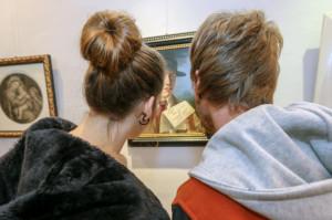 A Mondovì due 'ciceroni' d'eccezione alla mostra sulla Pinacoteca Bongioanni
