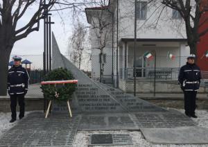 Sabato 2 febbraio la commemorazione dell'eccidio di San Benigno
