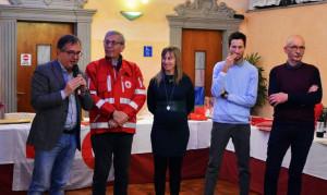 Il comitato di Busca della Croce Rossa in festa