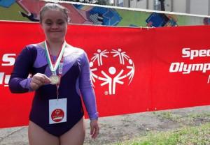 Amico Sport, la ginnasta cuneese Paula Petrisor al raduno federale di Padova