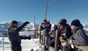 I guardiaparco del Mercantour e delle Marittime 'studiano' la neve