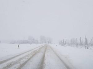 I fenomeni nevosi in atto a quote basse si prevedono in esaurimento in serata