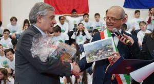 Inaugurata a Caldarola, nelle Marche, la scuola costruita anche grazie alle donazioni arrivate da Busca