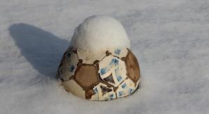 La neve ferma ancora il pallone cuneese
