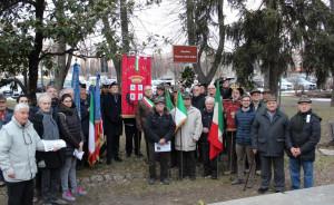Alba ha celebrato il Giorno del Ricordo con una corona di alloro nei giardini di Corso Matteotti