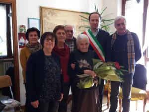 Borgo San Dalmazzo festeggia la neo centenaria Margherita Sordello