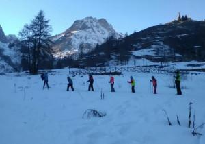 Riapre la pista da sci di fondo 'Gravieres' a Castelmagno