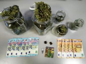 Produceva e spacciava marijuana a Cuneo: arrestato un operaio incensurato