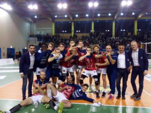 Pallavolo A2/M: Cuneo passa a Pordenone con un rotondo 0-3